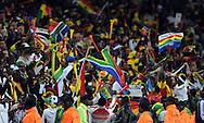 FUDBAL, PRETORIJA, 13. Jun. 2010. - Navijaci. Utakmica 1. kola grupe D Svetskog prvenstva u fudbalu izmedju Srbije i Gane. Foto: Nenad Negovanovic