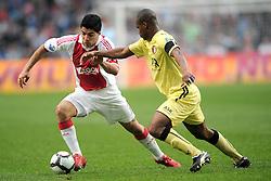 25-04-2010 VOETBAL: AJAX - FEYENOORD: AMSTERDAM<br /> De eerste wedstrijd in de bekerfinale is gewonnen door Ajax met 2-0 / Luis Suarez en Andre Bahia<br /> ©2010-WWW.FOTOHOOGENDOORN.NL