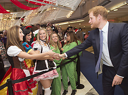 December 7, 2016 - London, GREAT BRITAIN - Britain's Prince Harry, right, attends an ICAP Charity Trading Day in support of Sentebale - a charity supporting orphans and vulnerable children, in London, Wednesday, Dec. 7, 2016. (Credit Image: © Prensa Internacional via ZUMA Wire)
