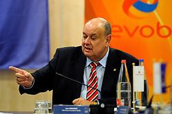 30-01-2010 VOLLEYBAL: CEV MEETING: DEN HAAG<br /> Vergadering van de CEV board in het Mercure hotel / <br /> ©2010-WWW.FOTOHOOGENDOORN.NL