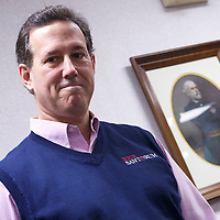 Republican Presidential candidate RICK SANTORUM held a morning town hall at Tommy's Country Ham House.  The South Carolina primary will be held on January 21st.
