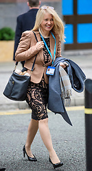 © Licensed to London News Pictures. 03/10/2017. Manchester, UK. ESTHER MCVEY  seen on day three of the Conservative Party Conference. The four day event is expected to focus heavily on Brexit, with the British prime minister hoping to dampen rumours of a leadership challenge. Photo credit: Ben Cawthra/LNP
