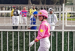 Hollywood star Kristen Stewart is on the set of Charlie's Angels in Istanbul, Turkey, on December 4, 2018. Stewart is seen in a jockey uniform at Veliefendi Race Course in Istanbul. The new movie of the franchise is set in Turkey in various locations. Photo by ABACAPRESS.COM