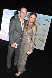 CARLO CARELLO and SOPHIA WINNINGTON at a party to celebrate the launch of the new 2&8 club at Morton's Berkeley Square, London on 27th September 2012.