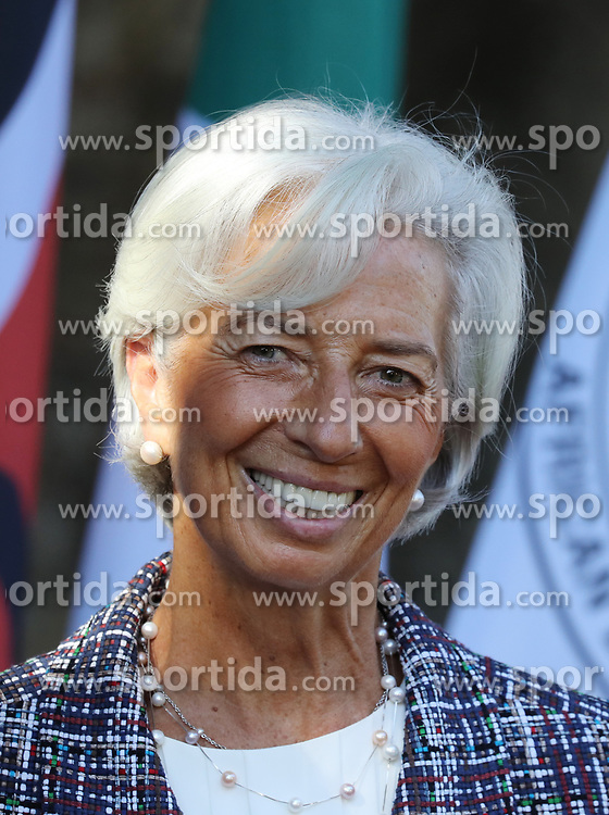 27.05.2017, Taormina, ITA, 43. G7 Gipfel in Taormina, im Bild Christine Lagarde - gesch&auml;ftsf&uuml;hrende Direktorin, des internationalen W&auml;hrungsfond // Christine Lagarde - Managing Director, International Monetary Fund during the 43rd G7 summit in Taormina, Italy on 2017/05/27. EXPA Pictures &copy; 2017, PhotoCredit: EXPA/ SM<br /> <br /> *****ATTENTION - OUT of GER*****