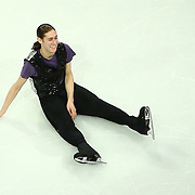 Jason Brown is seen during the Smucker's Skating Spectacular at the TD Garden on January 12, 2014 in Boston, Massachusetts.