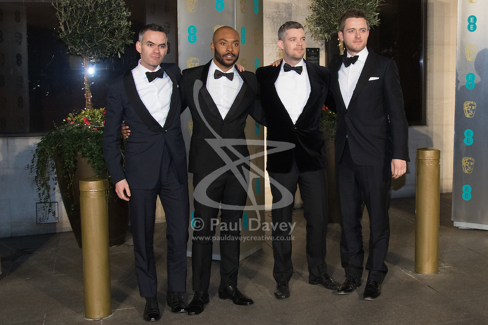 Photo Must Be Credited ©Alpha Press<br /> XXX<br /> arrives at the EE British Academy Film Awards after party dinner at the Grosvenor House Hotel in London.