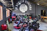 Custom Motorcycles at Deus Custom Garage.