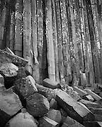 Basalt columns, Devil's Postpile National Monument, California