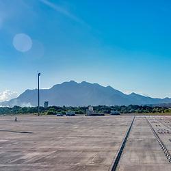 Aeroporto de Vitória (local) fotografado em Vitória, capital do estado do Espírito Santo -  Sudeste do Brasil. Registro feito em 2018.<br /> ⠀<br /> ⠀<br /> <br /> <br /> <br /> <br /> ENGLISH: Vitória Airport photographed in Vitória, capital of Espírito Santo state - Southeast of Brazil. Picture made in 2018.
