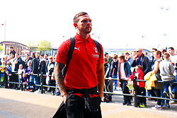 Jon Taylor of Rotherham United arrives at the Pride Park Stadium, home to Derby County - Mandatory by-line: Ryan Crockett/JMP - 30/03/2019 - FOOTBALL - Pride Park Stadium - Derby, England - Derby County v Rotherham United - Sky Bet Championship