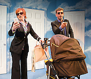 Closer Than Ever by Richard Maltby and David Shire<br /> at Jermyn Street Theatre, London, Great Britain <br /> press photocall<br /> 7th May 2014 <br /> <br /> Graham Bickley <br /> Sophie-Louise Dann<br /> Arvid Larsen <br /> Issy Van Randwyck