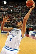 DESCRIZIONE : Roma Amichevole preparazione Eurobasket 2007 Italia Grecia <br /> GIOCATORE : Luca Garri<br /> SQUADRA : Nazionale Italia Uomini <br /> EVENTO : Amichevole preparazione Eurobasket 2007 Italia Grecia <br /> GARA : Italia Grecia <br /> DATA : 30/08/2007 <br /> CATEGORIA : Tiro<br /> SPORT : Pallacanestro <br /> AUTORE : Agenzia Ciamillo-Castoria/G.Ciamillo