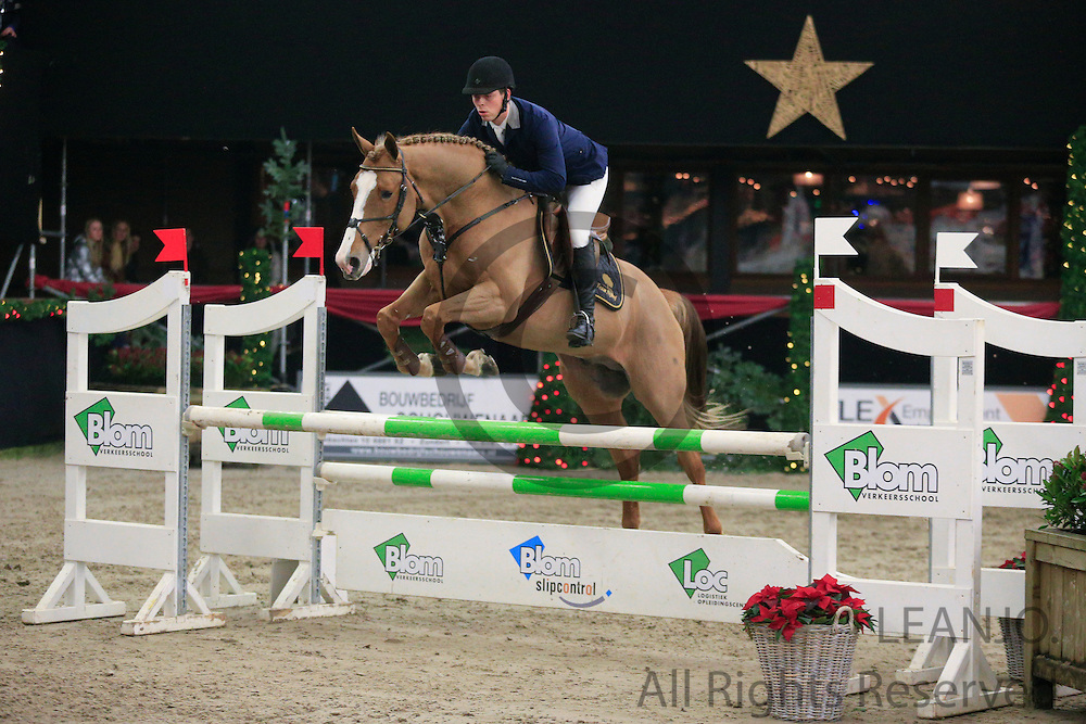 Hanno Ellerman - Ulove des Charmes<br /> KNHS/KWPN GMB Hengstencompetitie Roosendaal 2012<br /> © DigiShots