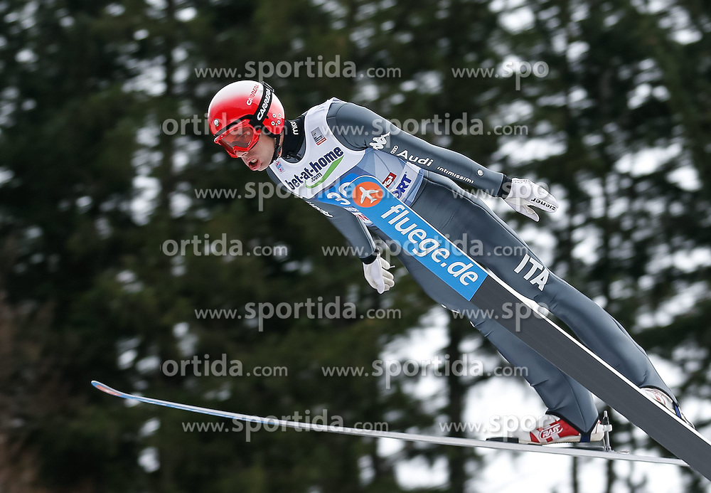 04.01.2014, Bergisel Schanze, Innsbruck, AUT, FIS Ski Sprung Weltcup, 62. Vierschanzentournee, Probesprung, im Bild Roberto Dellasega (ITA) // Roberto Dellasega of Italy during Trial Jump of 62nd Four Hills Tournament of FIS Ski Jumping World Cup at the Bergisel Schanze, Innsbruck, Austria on 2014/01/04. EXPA Pictures © 2014, PhotoCredit: EXPA/ Peter Rinderer