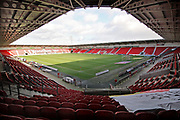 A general view of the stadium before the EFL Sky Bet League 1 match between Doncaster Rovers and Peterborough United at the Keepmoat Stadium, Doncaster, England on 9 February 2019.