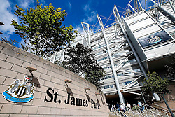 A General View outside St James' Park - Photo mandatory by-line: Rogan Thomson/JMP - 07966 386802 17/08/2014 - SPORT - FOOTBALL - Newcastle, England - St James' Park - Newcastle United v Manchester City - Barclays Premier League.