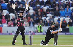 Somerset's Ryan Davies appeals for the wicket of Sussex's Chris Nash.  - Mandatory by-line: Alex Davidson/JMP - 01/06/2016 - CRICKET - The 1st Central County Ground - Hove, United Kingdom - Sussex v Somerset - NatWest T20 Blast