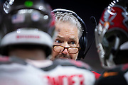NEW ORLEANS, LA - SEPTEMBER 9:  Head Coach Dirk Koetter of the Tampa Bay Buccaneers on the sidelines during a game against the New Orleans Saints at Mercedes-Benz Superdome on September 9, 2018 in New Orleans, Louisiana.  The Buccaneers defeated the Saints 48-40.  (Photo by Wesley Hitt/Getty Images) *** Local Caption *** Dirk Koetter