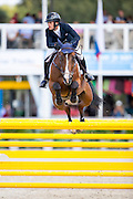 Robinson Maupiler - Joy de la Liniere<br /> FEI World Breeding Jumping Championships for Young Horses 2016<br /> © DigiShots
