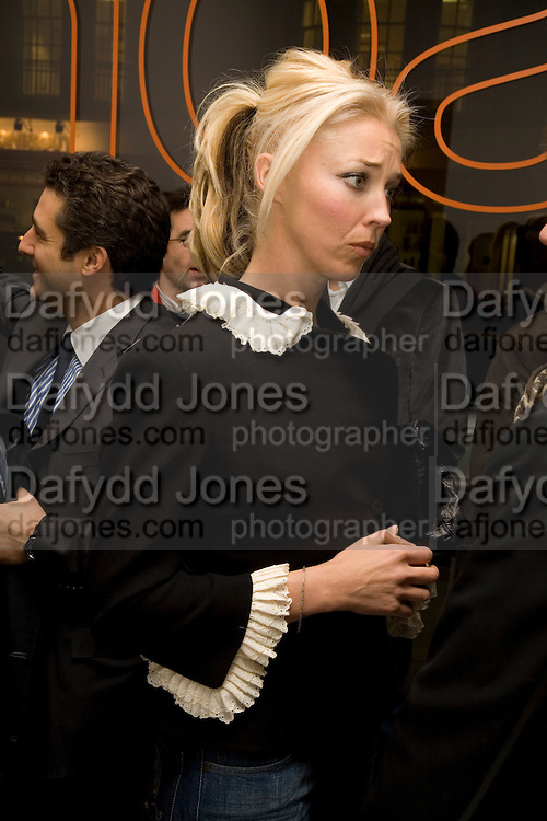 TAMARA BECKWITH, Exhibition of work by Marc Newson at the Gagosian Gallery, Davies st. London. afterwards at Mr. Chow, Knightsbridge. 5 March 2008.  *** Local Caption *** -DO NOT ARCHIVE-© Copyright Photograph by Dafydd Jones. 248 Clapham Rd. London SW9 0PZ. Tel 0207 820 0771. www.dafjones.com.
