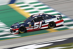 July 13, 2018 - Sparta, Kentucky, United States of America - BJ McLeod (51) brings his race car down the front stretch during practice for the Quaker State 400 at Kentucky Speedway in Sparta, Kentucky. (Credit Image: © Chris Owens Asp Inc/ASP via ZUMA Wire)
