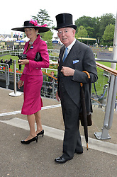 The EARL & COUNTESS OF HALIFAX  at Day 1 of the 2013 Royal Ascot Racing Festival at Ascot Racecourse, Ascot, Berkshire on 18th June 2013.