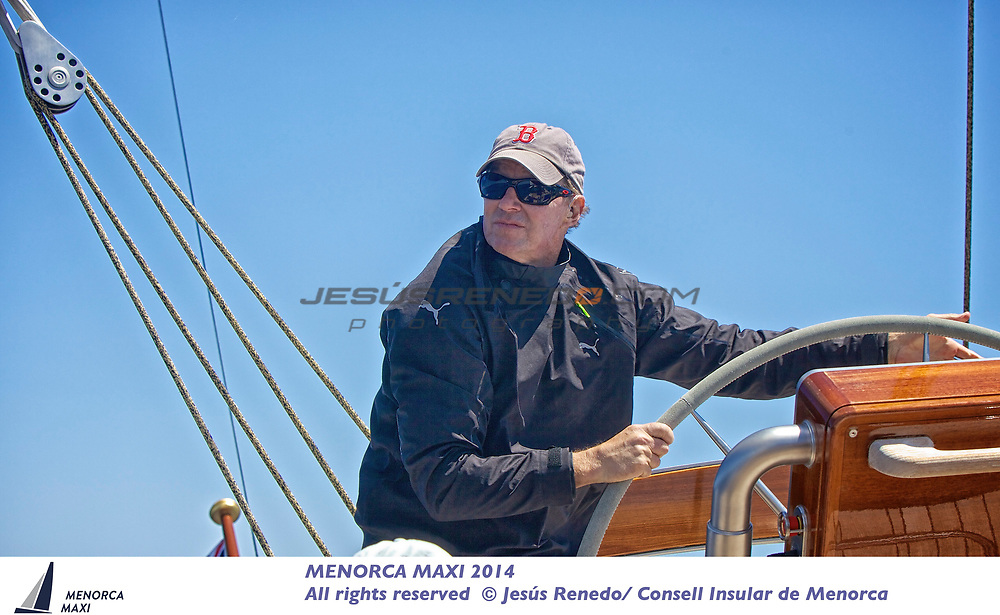 MENORCA MAXI 2014,on board J Class Hanumann © Jesus Renedo
