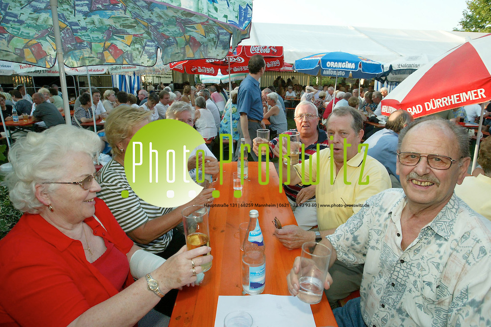 Mannheim. Kleing&auml;rtner Elkasberg. Fest<br /><br />Bild: Pro&szlig;witz