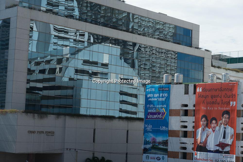 Thailand. Bangkok. Bang Rak district / quartier de Bang Rak