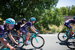 Manon Lloyd (GBR) of Trek-Drops Cycling Team rides mid-pack during Stage 1 of the Amgen Tour of California - a 124 km road race, starting and finishing in Elk Grove on May 17, 2018, in California, United States. (Photo by Balint Hamvas/Velofocus.com)