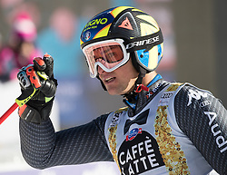 18.12.2016, Grand Risa, La Villa, ITA, FIS Ski Weltcup, Alta Badia, Riesenslalom, Herren, 2. Lauf, im Bild Roberto Nani (ITA) // Roberto Nani of Italy reacts after his 2nd run of men's Giant Slalom of FIS ski alpine world cup at the Grand Risa race Course in La Villa, Italy on 2016/12/18. EXPA Pictures © 2016, PhotoCredit: EXPA/ Johann Groder