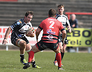 Pontypridds' Rhys Shellard<br /> Photographer Mike Jones/Replay Images<br /> <br /> Aberavon RFC v Pontypridd RFC <br /> Principality Premiership<br /> Saturday 14th April 2018<br /> Talbot Athletic Ground<br /> <br /> World Copyright © Replay Images . All rights reserved. info@replayimages.co.uk - http://replayimages.co.uk
