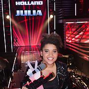 NLD/Hilversum/20131220 - Finale The Voice of Holland 2013, winnares Julia van der Toorn