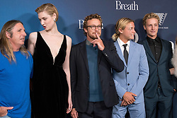 Stars walk the red carpet for the movie Breath at The Ritz Cinema in Sydney. Breath is a new movie directed by Australia's Simon Baker, Simon also stars in the movie. 26 Apr 2018 Pictured: Simon Baker, Tim Winton, Elizabeth Debicki, Samson Coulter, Ben Spence. Photo credit: SPEED MEDIA / MEGA TheMegaAgency.com +1 888 505 6342