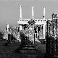The Forum and Basilica of Ancient Pompei