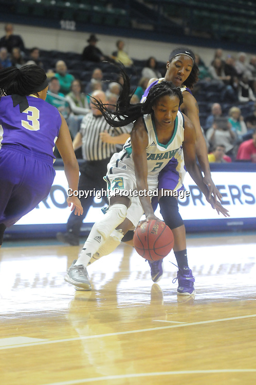 UNCW hosted Western Carolina Saturday November 29, 2014 at Trask Coliseum in Wilmington, N.C. (Jason A. Frizzelle)