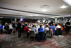 General View of the dining room during the Player Sponsors' Dinner in the Heineken Lounge at Ashton Gate - Mandatory byline: Rogan Thomson/JMP - 08/02/2016 - RUGBY UNION - Ashton Gate Stadium - Bristol, England - Bristol Rugby Player Sponsors' Dinner.