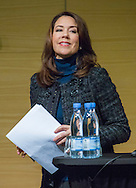 Copenhagen, 07-11-2016 <br /> <br /> Crown Princess Mary attends conference<br /> <br /> <br /> COPYRIGHT ROYALPORTRAITS EUROPE/ BERNARD RUEBSAMEN