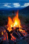 Camp Fire, Wrangell - St. Elias Park, Alaska