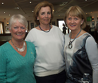 23/08/2015 REPRO FREE  Aideen Stanley, Connemara, Mary O&rsquo;Keeffe, Greystones and Maeve O&rsquo;Connor Galway City  at Connemara Golf Club in Ballyconneely Co Galway  where Ryan Tubridy received honorary Life Membership from the Club .<br /> Photo:Andrew Downes, xposure.