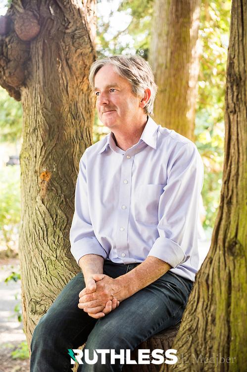 Brody Sweeney of Camile restaurants in Dublin. Shot in the Botanic Gardens, Dublin by Ruth Medjber for Service! Magazine, 2013.