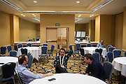 The Linux Foundation hosts its OPNFV Summit at the Hyatt Regency San Francisco Airport in Burlingame, California, on November 10, 2015. (Stan Olszewski/SOSKIphoto)