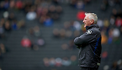 MILTON KEYNES, ENGLAND - Easter Monday, April 9, 2012: Tranmere Rovers' manager Ronnie Moore during the Football League One match against Milton Keynes Dons at the Stadium MK. (Pic by David Rawcliffe/Propaganda)