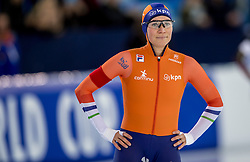 10-12-2016 NED: ISU World Cup Speed Skating, Heerenveen<br /> 1500 m women / Linda de Vries reed de elfde tijd (1.58,76).