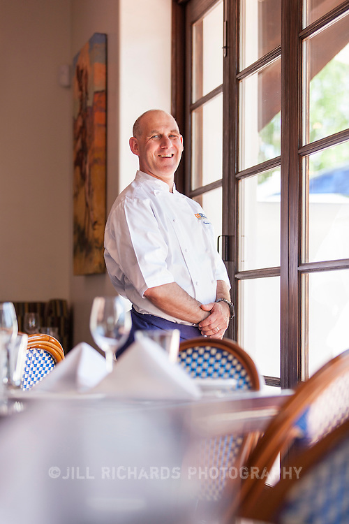 Executive chef Charles Kassels of El Chorro, located at 5550 E Lincoln Dr. in Paradise Valley, AZ.