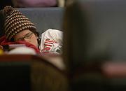 16367Feature student sleeping Grover: Johnny Hanson