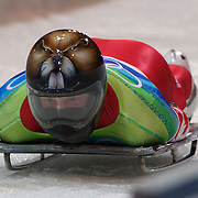 Winter Olympics, Vancouver, 2010.Jeff Pain, Canada, in action during the Skeleton competition at Whistler Sliding Centre, Whistler, during the Vancouver Winter Olympics. 18th February 2010. Photo Tim Clayton