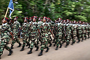 Parade during the Independence Day celebrations in Nimba County. (22 July 2010).