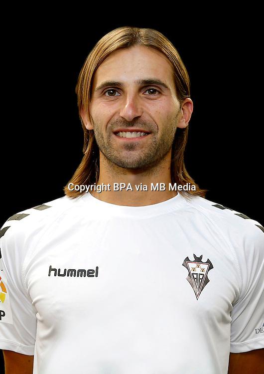 Spain - La Liga Adelante 2014-2015 / <br /> ( Albacete Balompie ) - <br /> Gonzalo de la Fuente